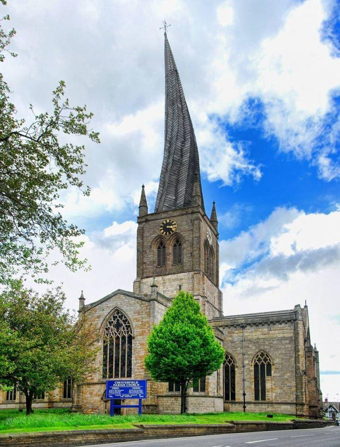 Crooked Spire, Chesterfield