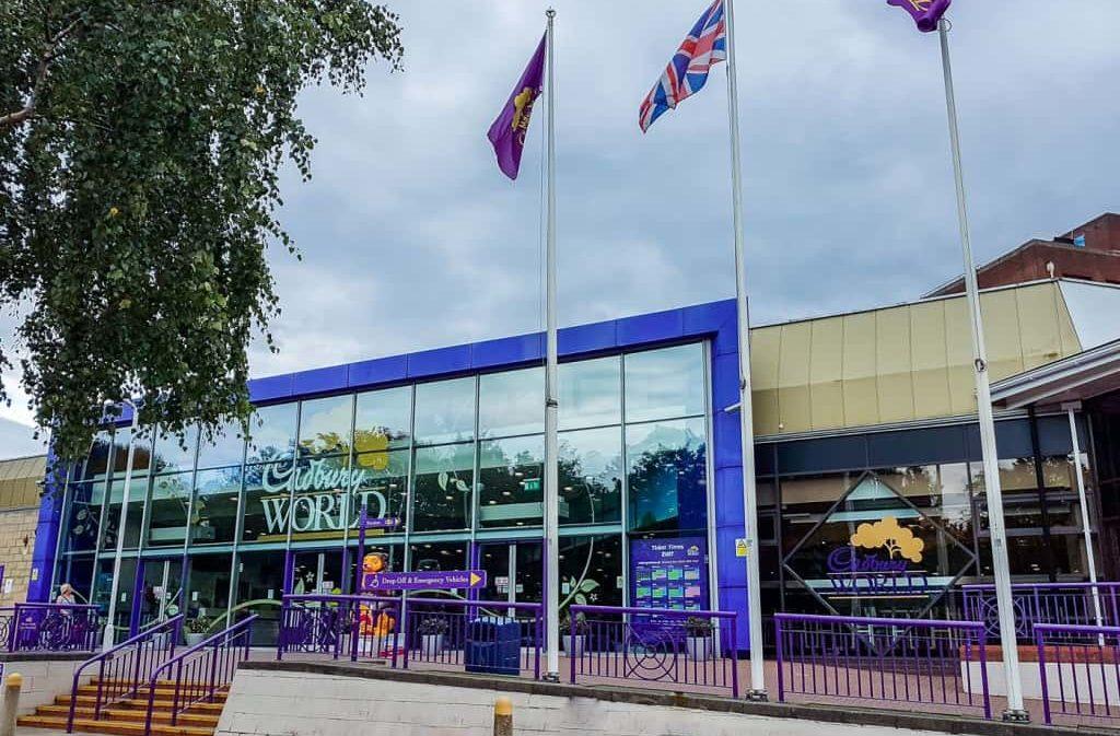 Cadbury World Entrance