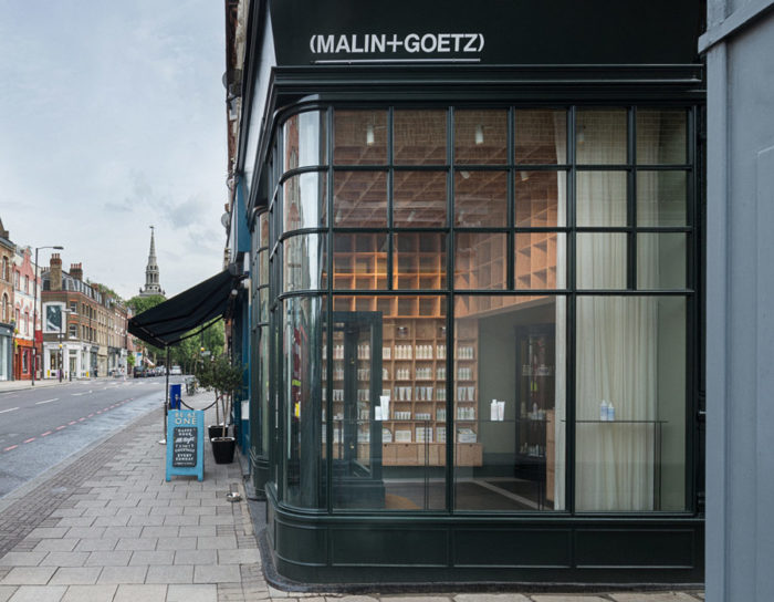 Malin + Goetz store front