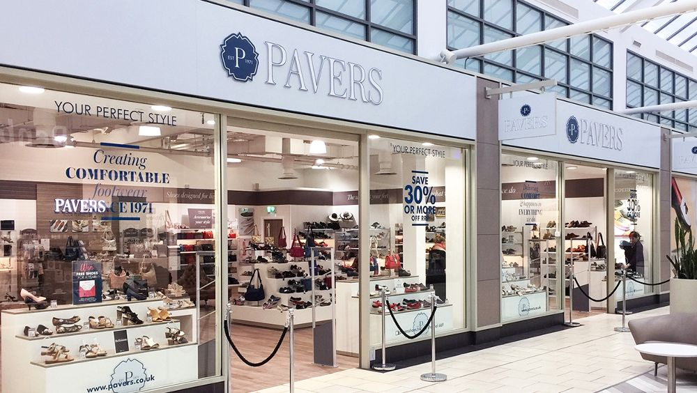 Pavers store front